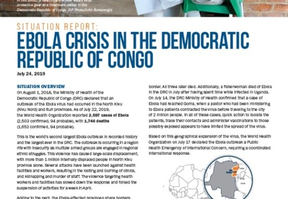 Ebola crisis in the Democratic Republic of Congo, No. 2